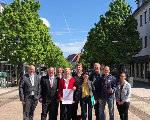 Pressekonferenz in Balingen