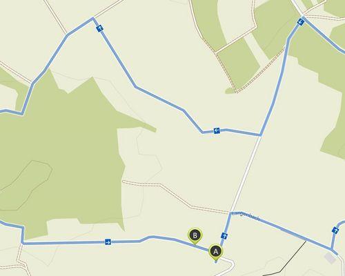 Strecke in Balingen